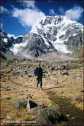 Runners on the Inca Trail